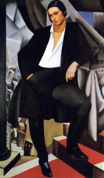 Ritratto della Duchessa de la Salle - Tamara de Lempicka
